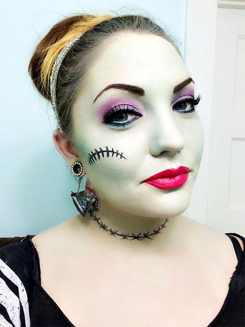 15-Simple-Easy-Halloween-Makeup-Ideas-For-Girls-Women-2018-16