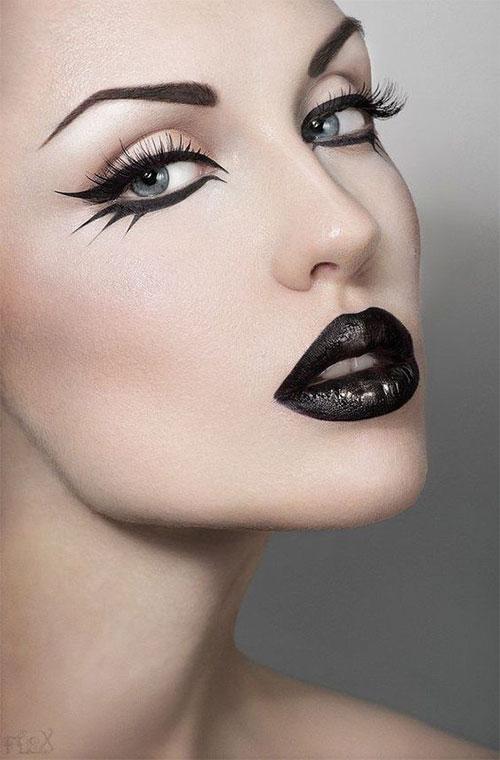 15-Simple-Easy-Halloween-Makeup-Ideas-For-Girls-Women-2018-17