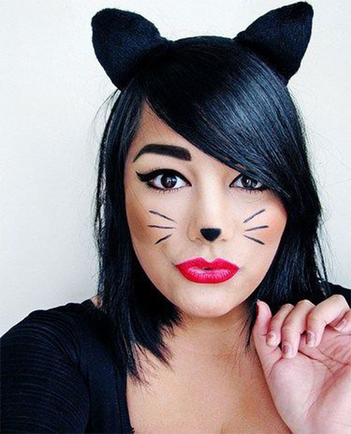 15-Simple-Easy-Halloween-Makeup-Ideas-For-Girls-Women-2018-6