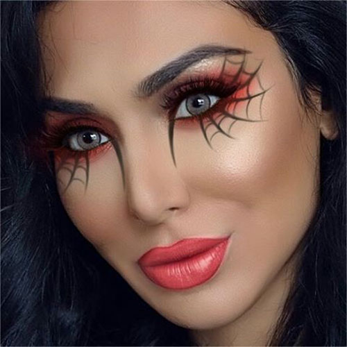 15-Simple-Easy-Halloween-Makeup-Ideas-For-Girls-Women-2018-9