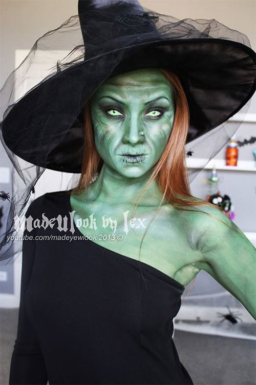 15-Witch-Halloween-Make-Up-Looks-For-Girls-Women-2018-10