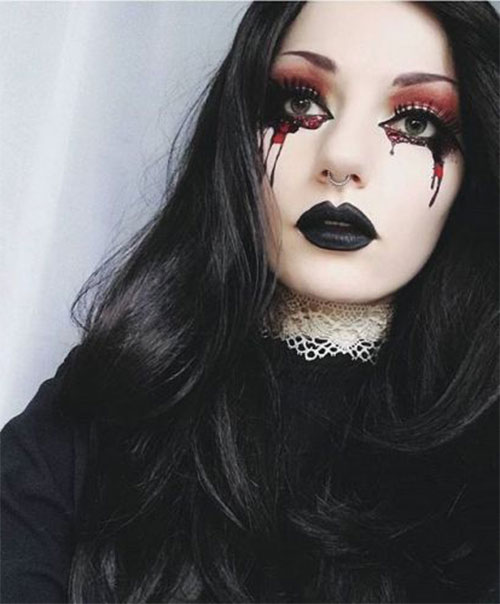 15-Witch-Halloween-Make-Up-Looks-For-Girls-Women-2018-12