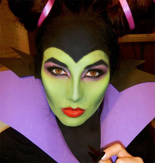 15-Witch-Halloween-Make-Up-Looks-For-Girls-Women-2018-6