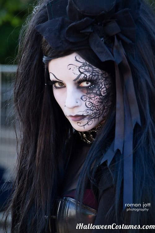 15-Witch-Halloween-Make-Up-Looks-For-Girls-Women-2018-9