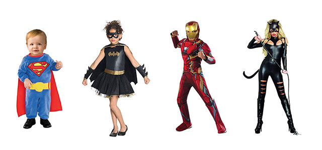 We all have grown up to be a fan of superheroes this interest and admiration is not restricted to childhood alone we all have our personal favorite ...  sc 1 st  Modern Fashion Blog & 18 Amazing Superhero Halloween Costumes For Kids Men u0026 Women 2018 ...