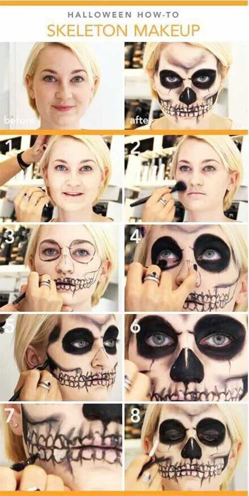 18-Easy-Step-By-Step-Halloween-Makeup-Tutorials-For-Beginners-2018-16