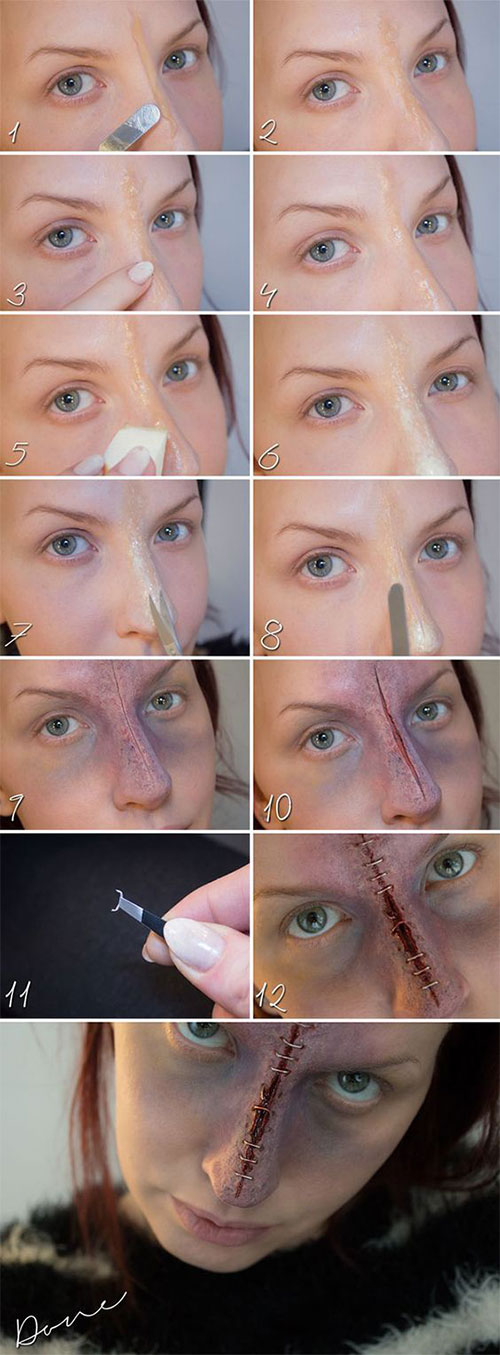 18-Easy-Step-By-Step-Halloween-Makeup-Tutorials-For-Beginners-2018-17