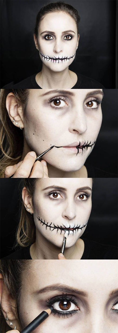 18-Easy-Step-By-Step-Halloween-Makeup-Tutorials-For-Beginners-2018-18
