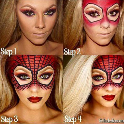 18-Easy-Step-By-Step-Halloween-Makeup-Tutorials-For-Beginners-2018-3