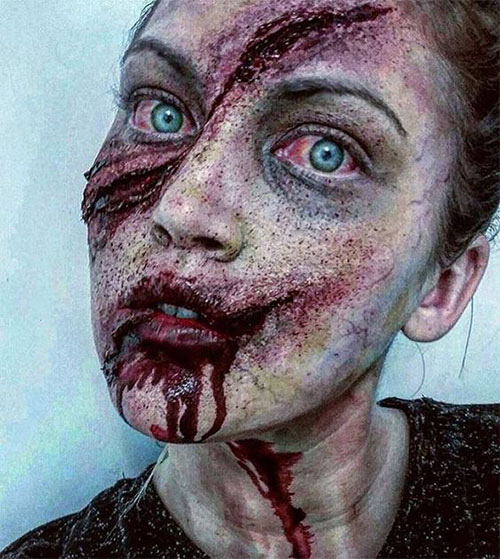 18-Halloween-Blood-Makeup-Ideas-For-Girls-Women-2018-4