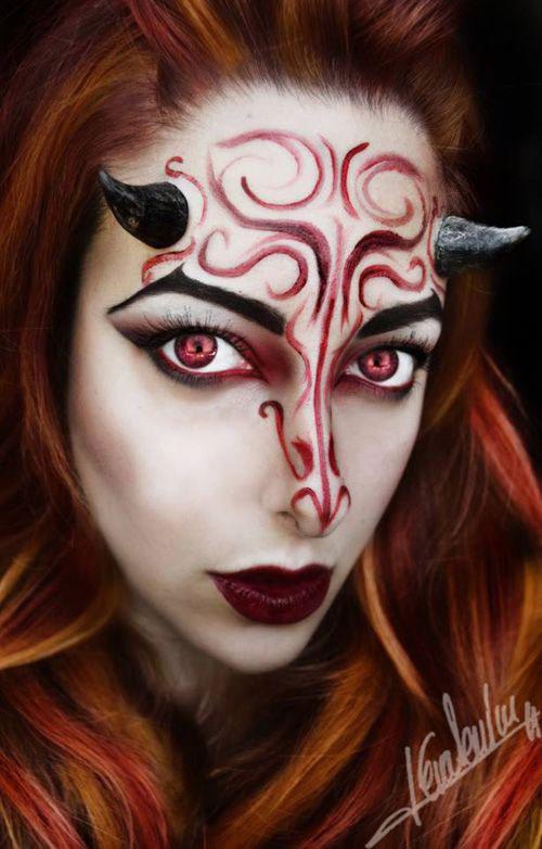 18-Halloween-Devil-Makeup-Ideas-For-Girls-Women-2018-1