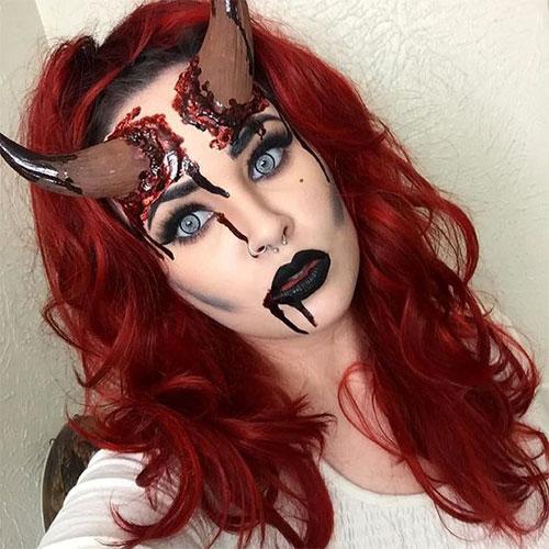 18-Halloween-Devil-Makeup-Ideas-For-Girls-Women-2018-6