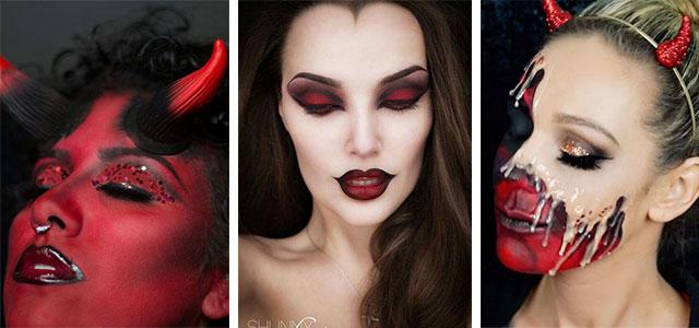 Halloween Makeup Devil.She Devil Halloween Makeup Ideas The Halloween And Makeup