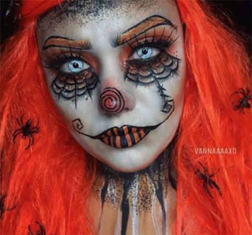 20-Halloween-Clown-Makeup-Ideas-For-Girls-Women-2018-17