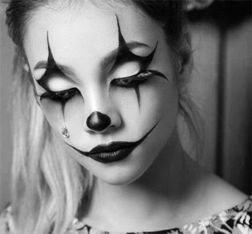 20-Halloween-Clown-Makeup-Ideas-For-Girls-Women-2018-18