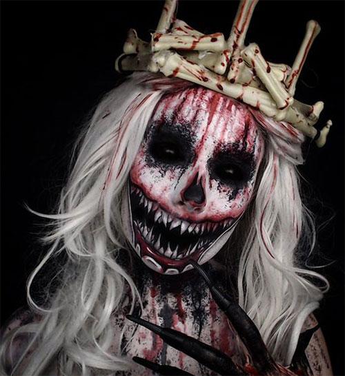 20-Halloween-Clown-Makeup-Ideas-For-Girls-Women-2018-19