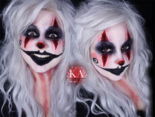 20-Halloween-Clown-Makeup-Ideas-For-Girls-Women-2018-20