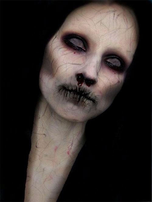 20-Scary-Halloween-MakeUp-Looks-For-Girls-Women-2018-10