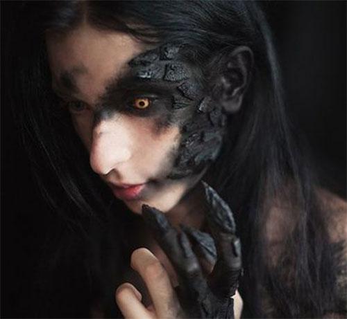 20-Scary-Halloween-MakeUp-Looks-For-Girls-Women-2018-14