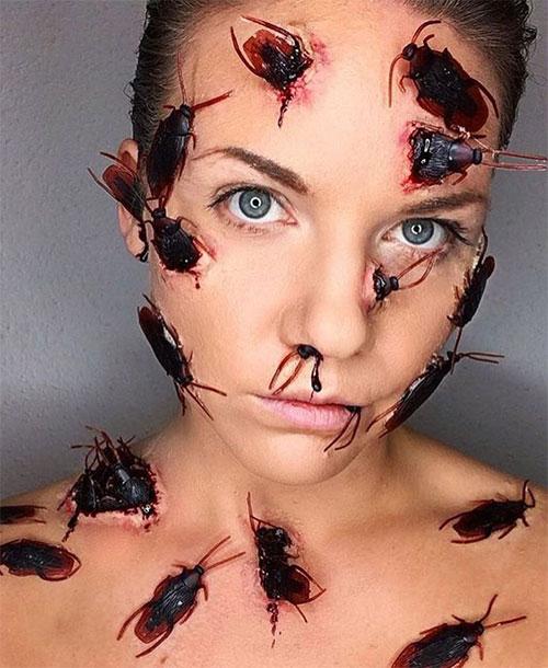 20-Scary-Halloween-MakeUp-Looks-For-Girls-Women-2018-2