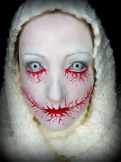 20-Scary-Halloween-MakeUp-Looks-For-Girls-Women-2018-3