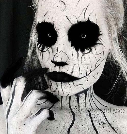20-Scary-Halloween-MakeUp-Looks-For-Girls-Women-2018-6