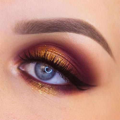 10-Autumn-Eye-Makeup-Looks-Ideas-For-Girls-Women-2018-4