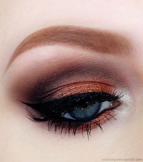 10-Autumn-Eye-Makeup-Looks-Ideas-For-Girls-Women-2018-9