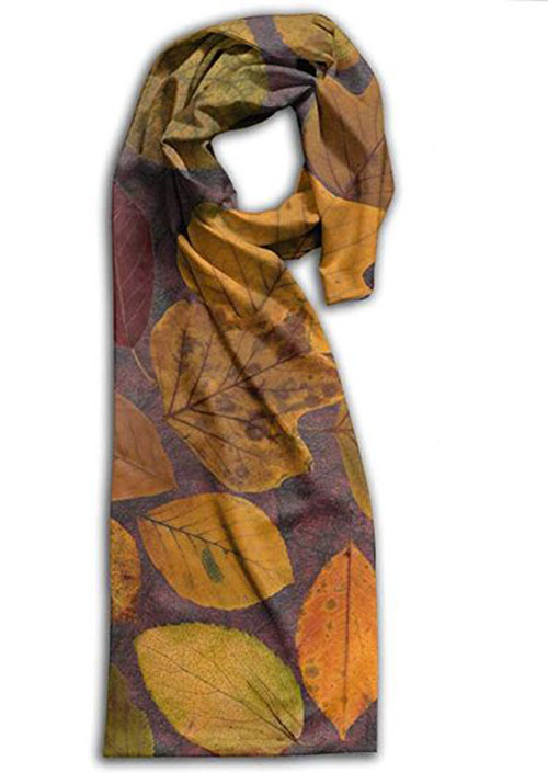15-Autumn-Leaves-Scarves-For-Girls-Women-2018-Scarf-Collection-1