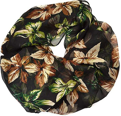 15-Autumn-Leaves-Scarves-For-Girls-Women-2018-Scarf-Collection-13