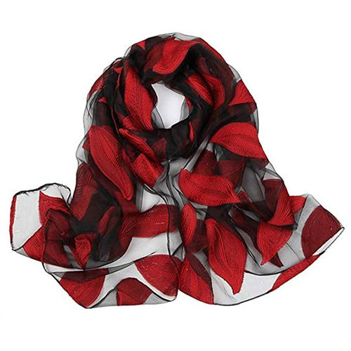 15-Autumn-Leaves-Scarves-For-Girls-Women-2018-Scarf-Collection-15