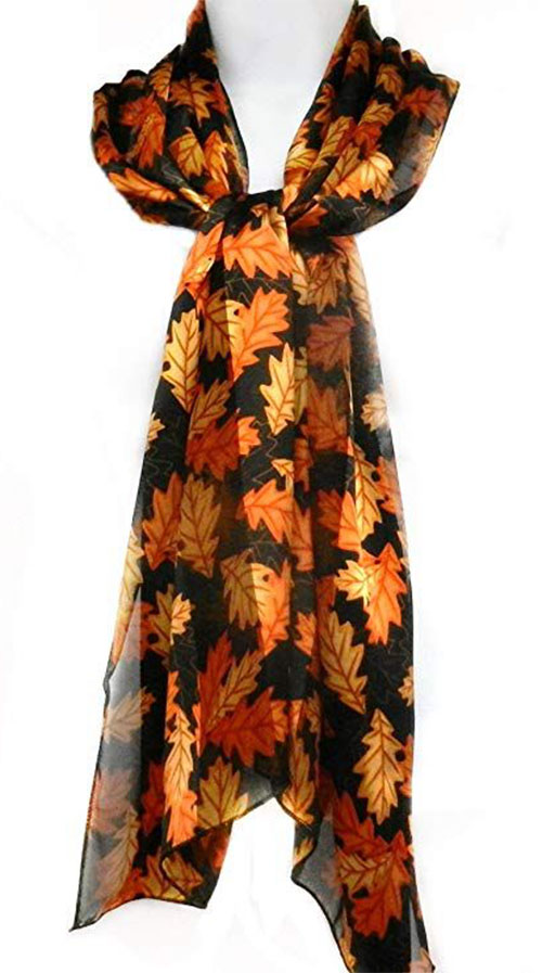 15-Autumn-Leaves-Scarves-For-Girls-Women-2018-Scarf-Collection-2