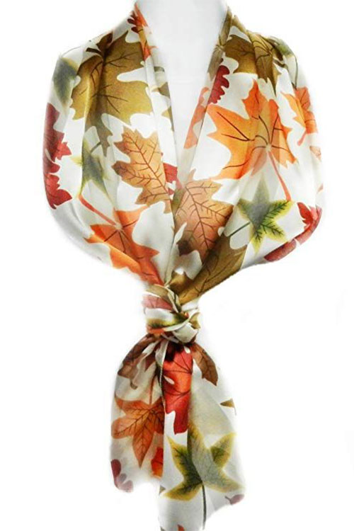 15-Autumn-Leaves-Scarves-For-Girls-Women-2018-Scarf-Collection-3
