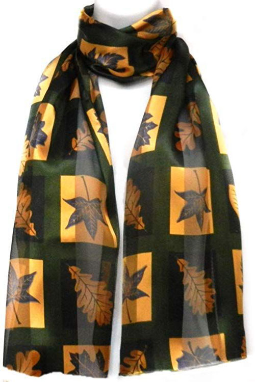 15-Autumn-Leaves-Scarves-For-Girls-Women-2018-Scarf-Collection-7