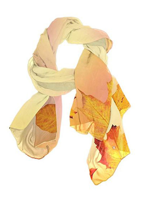15-Autumn-Leaves-Scarves-For-Girls-Women-2018-Scarf-Collection-9