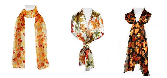 15-Autumn-Leaves-Scarves-For-Girls-Women-2018-Scarf-Collection-F