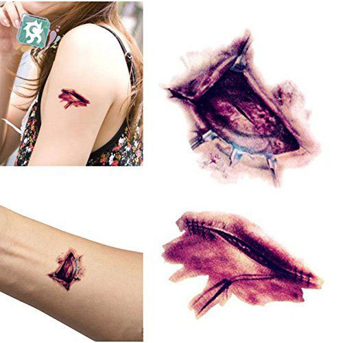 15-Scary-Fake-Temporary-Halloween-Tattoos-2018-1