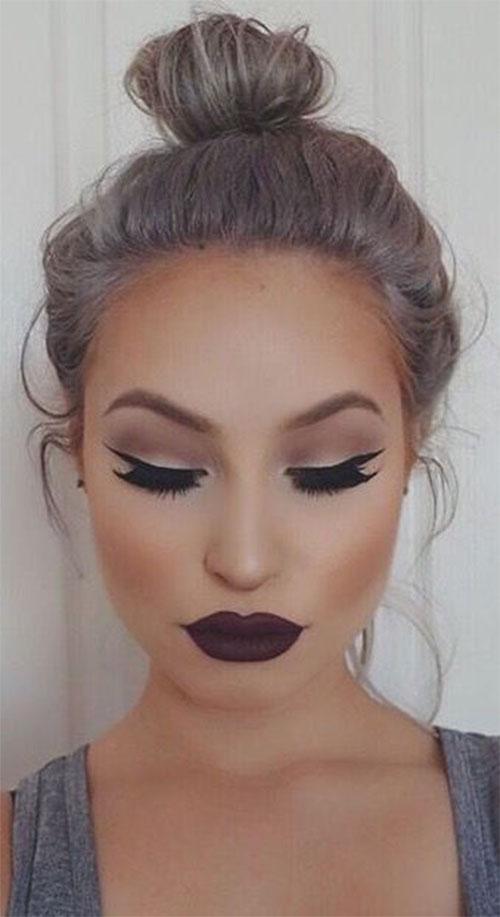 18-Autumn-Face-Makeup-Looks-Trends-Ideas-For-Girls-Women-2018-6