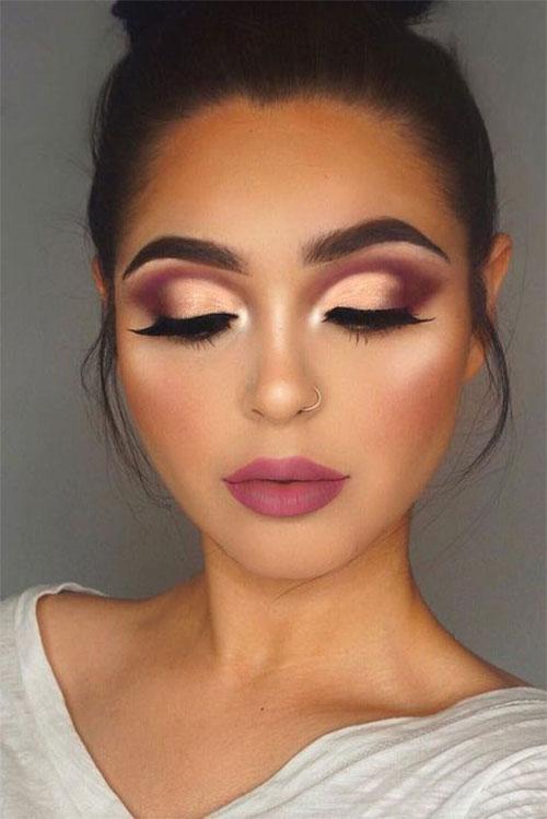 18-Autumn-Face-Makeup-Looks-Trends-Ideas-For-Girls-Women-2018-7