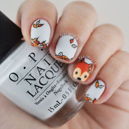 20-Best-Autumn-Nails-Art-Designs-Ideas-2018-10
