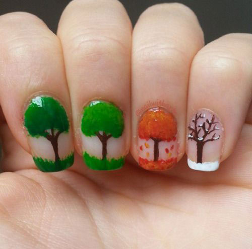 20-Best-Autumn-Nails-Art-Designs-Ideas-2018-15