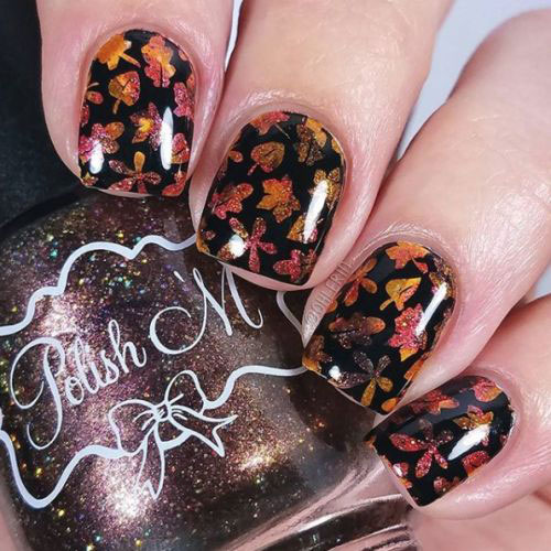 20-Best-Autumn-Nails-Art-Designs-Ideas-2018-9