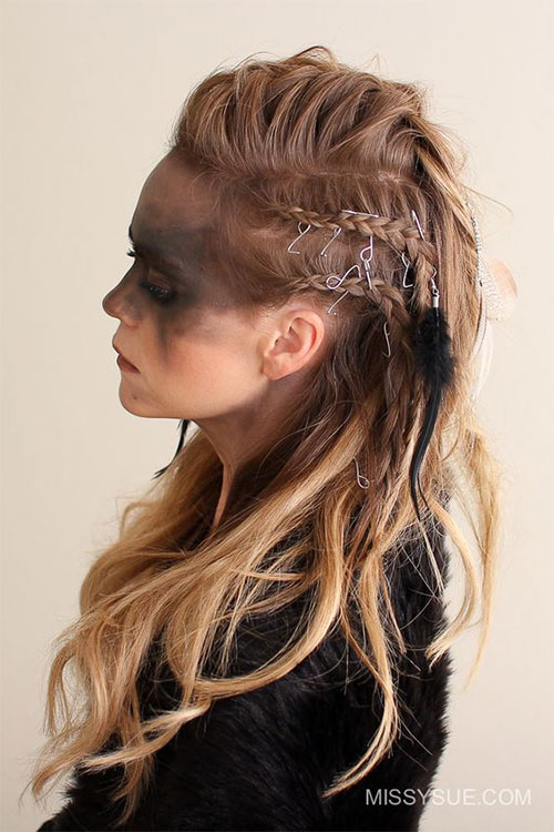 25-Cool-Funky-Scary-Halloween-Hairstyles-For-Kids-Girls-2018-18