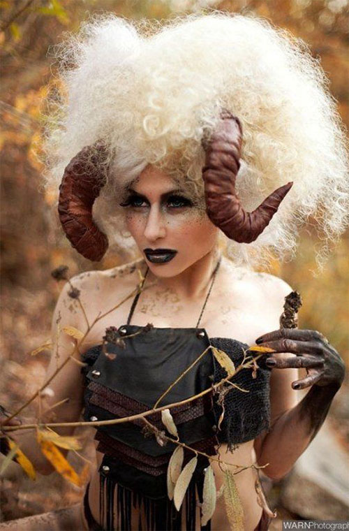 25-Cool-Funky-Scary-Halloween-Hairstyles-For-Kids-Girls-2018-19