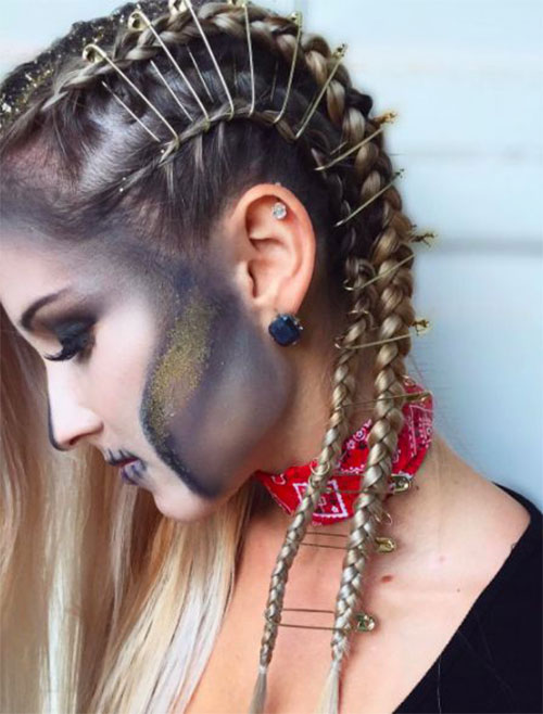 25-Cool-Funky-Scary-Halloween-Hairstyles-For-Kids-Girls-2018-20