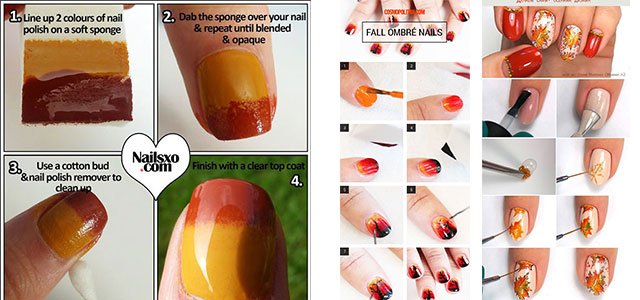 Step-By-Step-Autumn-Nail-Art-Tutorials-For-Learners-2018-F