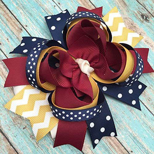 Happy-Thanksgiving-Hair-Accessories-For-Kids-Girls-2018-2
