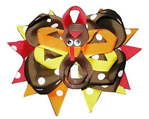 Happy-Thanksgiving-Hair-Accessories-For-Kids-Girls-2018-3