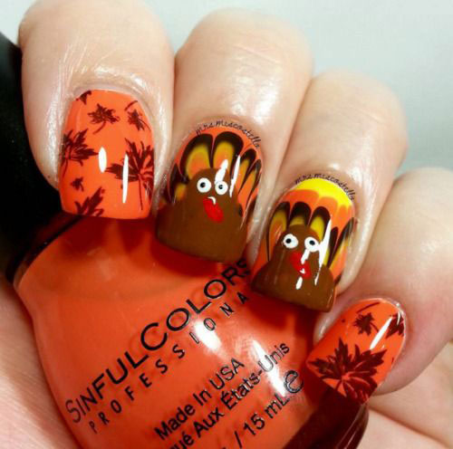 Thanksgiving-Nail-Art-Designs-Ideas-2018-5