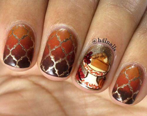 Thanksgiving-Nail-Art-Designs-Ideas-2018-9